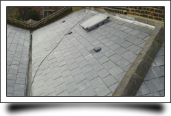 Slate roof repair and replacement